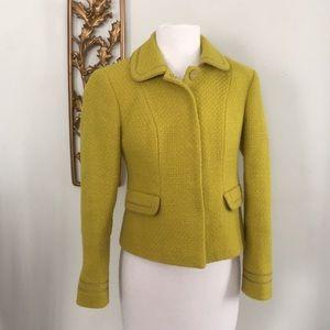 Boden Wool Blend Snap Front Jacket 4P